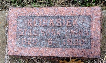 KLINKSIEK, TWINS - Gillespie County, Texas | TWINS KLINKSIEK - Texas Gravestone Photos