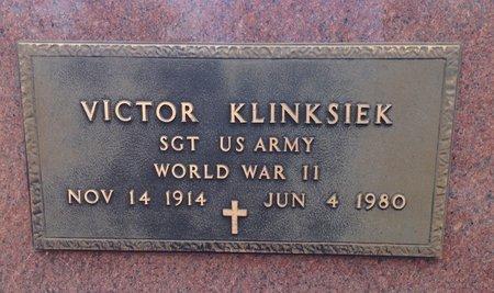 KLINKSIEK (VETERAN WWII), VICTOR - Gillespie County, Texas | VICTOR KLINKSIEK (VETERAN WWII) - Texas Gravestone Photos