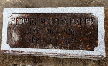 MOLDENHAUER, HEDWIG - Gillespie County, Texas | HEDWIG MOLDENHAUER - Texas Gravestone Photos