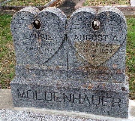 MODENHAUER, AUGUST A. - Gillespie County, Texas | AUGUST A. MODENHAUER - Texas Gravestone Photos