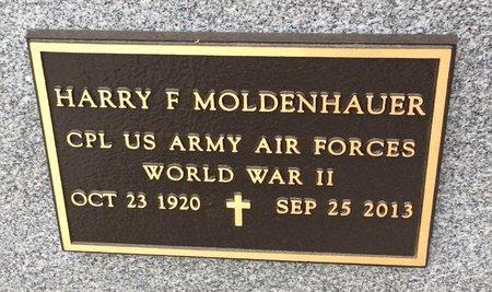 MOLDENHAUER (VETERAN WWII), HARRY F - Gillespie County, Texas | HARRY F MOLDENHAUER (VETERAN WWII) - Texas Gravestone Photos