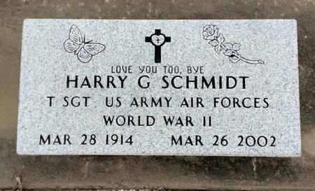 SCHMIDT (VETERAN WWII), HARRY G - Gillespie County, Texas | HARRY G SCHMIDT (VETERAN WWII) - Texas Gravestone Photos