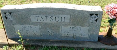 TATSCH, ANITA - Gillespie County, Texas | ANITA TATSCH - Texas Gravestone Photos