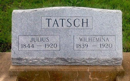 TATSCH, WILHEMINA - Gillespie County, Texas | WILHEMINA TATSCH - Texas Gravestone Photos