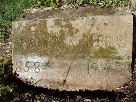 KILLEBREW, MARY ANN - Goliad County, Texas | MARY ANN KILLEBREW - Texas Gravestone Photos