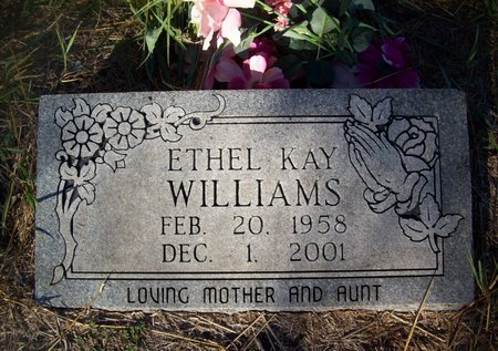 HARGROVE WILLIAMS, ETHEL KAY - Goliad County, Texas | ETHEL KAY HARGROVE WILLIAMS - Texas Gravestone Photos