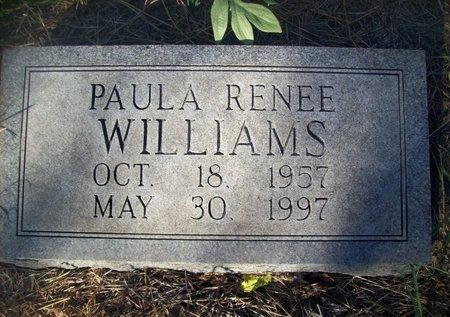 WILLIAMS, PAULA RENEE - Goliad County, Texas | PAULA RENEE WILLIAMS - Texas Gravestone Photos