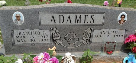 ADAMS, ANGELITA - Gonzales County, Texas | ANGELITA ADAMS - Texas Gravestone Photos