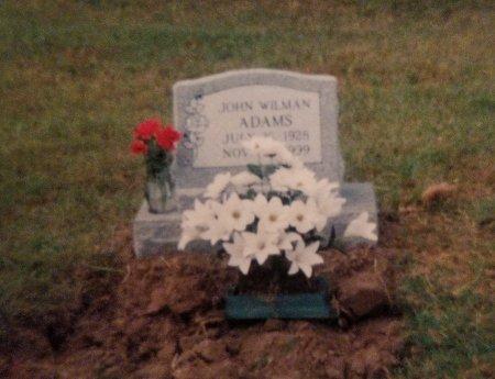ADAMS, JOHN WILMAN - Gonzales County, Texas | JOHN WILMAN ADAMS - Texas Gravestone Photos
