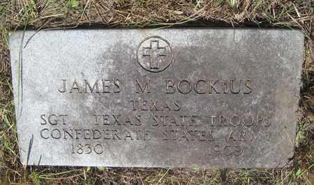 "BOCKIUS (VETERAN CSA), JAMES MONROE ""DOC"" - Gonzales County, Texas | JAMES MONROE ""DOC"" BOCKIUS (VETERAN CSA) - Texas Gravestone Photos"
