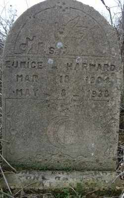 HARWARD, EUNICE - Gonzales County, Texas | EUNICE HARWARD - Texas Gravestone Photos