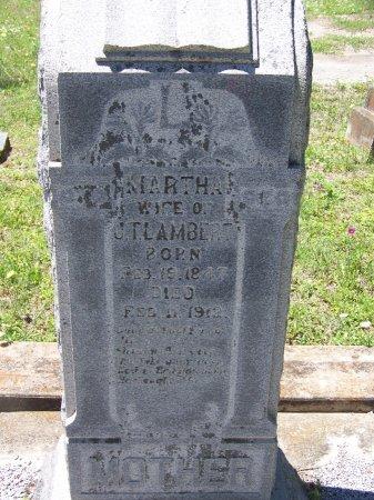 LAMBERT, MARTHA - Gonzales County, Texas | MARTHA LAMBERT - Texas Gravestone Photos