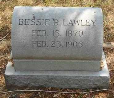 LAWLEY, BESSIE B. - Gonzales County, Texas   BESSIE B. LAWLEY - Texas Gravestone Photos