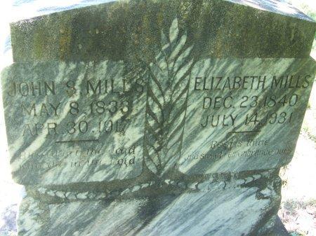 MILLS, ELIZABETH - Gonzales County, Texas | ELIZABETH MILLS - Texas Gravestone Photos