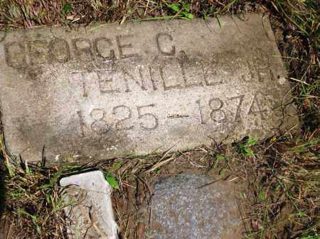 TENNILLE, JR., GEORGE C. - Gonzales County, Texas | GEORGE C. TENNILLE, JR. - Texas Gravestone Photos