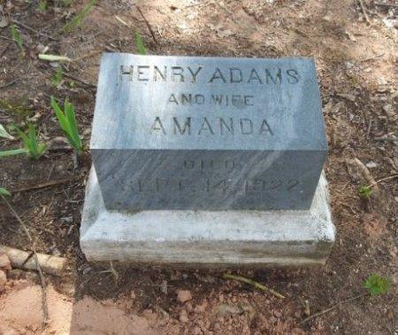 ADAMS, AMANDA - Grayson County, Texas | AMANDA ADAMS - Texas Gravestone Photos
