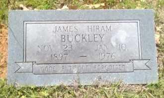 BUCKLEY, JAMES HIRAM - Grayson County, Texas   JAMES HIRAM BUCKLEY - Texas Gravestone Photos
