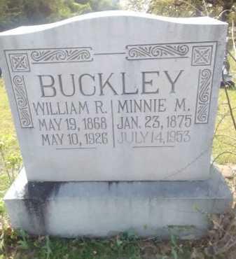 BUCKLEY, WILLIAM RICE - Grayson County, Texas | WILLIAM RICE BUCKLEY - Texas Gravestone Photos