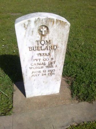 BULLARD (VETERAN WWI), TOM - Grayson County, Texas | TOM BULLARD (VETERAN WWI) - Texas Gravestone Photos