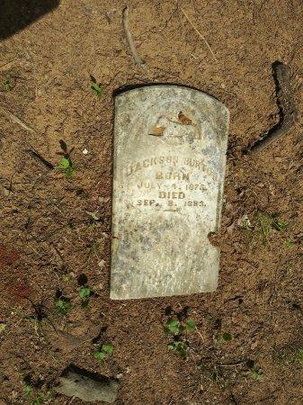 BURTON, JACKSON - Grayson County, Texas | JACKSON BURTON - Texas Gravestone Photos