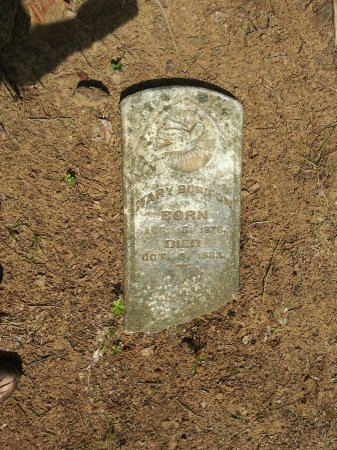 BURTON, MARY - Grayson County, Texas   MARY BURTON - Texas Gravestone Photos