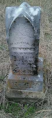 BYON, MARTHA A. - Grayson County, Texas   MARTHA A. BYON - Texas Gravestone Photos