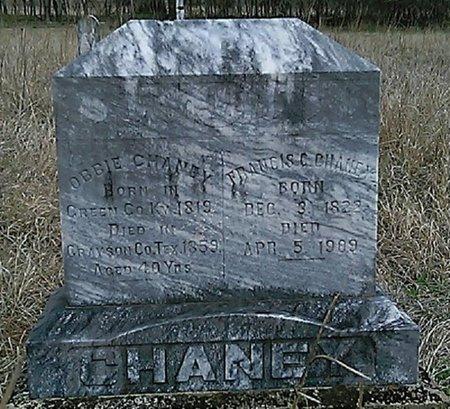 CHANEY, FRANCIS C. - Grayson County, Texas | FRANCIS C. CHANEY - Texas Gravestone Photos