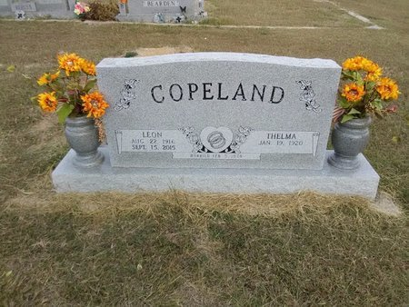 COPELAND, LEON - Grayson County, Texas | LEON COPELAND - Texas Gravestone Photos
