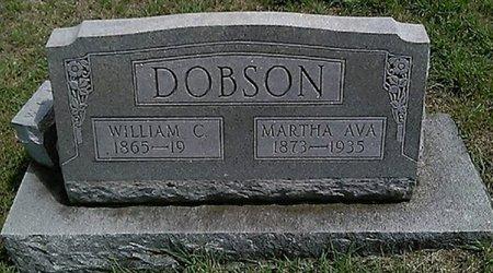 DOBSON, MARTHA AVA - Grayson County, Texas | MARTHA AVA DOBSON - Texas Gravestone Photos