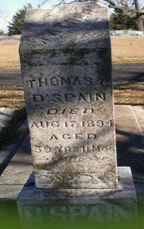 D'SPAIN, THOMAS - Grayson County, Texas | THOMAS D'SPAIN - Texas Gravestone Photos
