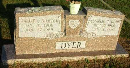 DYER, HALLIE LEE - Grayson County, Texas   HALLIE LEE DYER - Texas Gravestone Photos