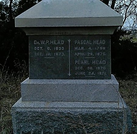 HEAD, PASCAL - Grayson County, Texas | PASCAL HEAD - Texas Gravestone Photos