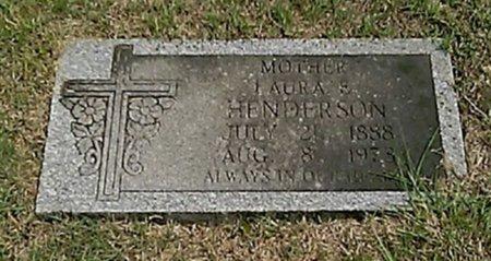 HENDERSON, LAURA E - Grayson County, Texas | LAURA E HENDERSON - Texas Gravestone Photos
