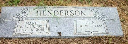 HENDERSON, J. P. - Grayson County, Texas | J. P. HENDERSON - Texas Gravestone Photos