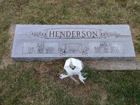 HENDERSON, RAY - Grayson County, Texas | RAY HENDERSON - Texas Gravestone Photos