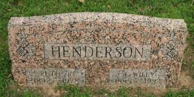HENDERSON, RUTH REBEKAH - Grayson County, Texas | RUTH REBEKAH HENDERSON - Texas Gravestone Photos