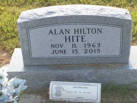 HITE, ALAN HILTON - Grayson County, Texas | ALAN HILTON HITE - Texas Gravestone Photos