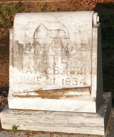 HITE, BERTHA MAE - Grayson County, Texas   BERTHA MAE HITE - Texas Gravestone Photos
