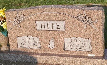 HITE, CLETA FAYE - Grayson County, Texas | CLETA FAYE HITE - Texas Gravestone Photos