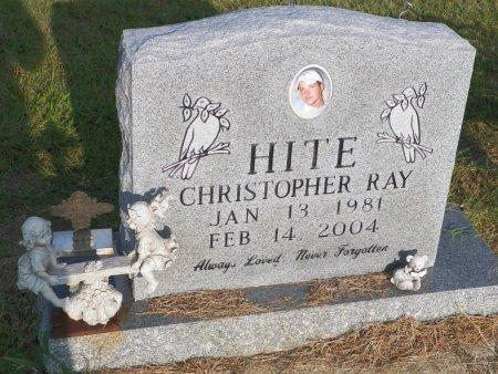 HITE, CHRISTOPHER RAY - Grayson County, Texas | CHRISTOPHER RAY HITE - Texas Gravestone Photos