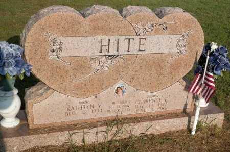 HITE, KATHRYN VIRGINIA - Grayson County, Texas | KATHRYN VIRGINIA HITE - Texas Gravestone Photos
