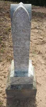 HITE, HORACE - Grayson County, Texas | HORACE HITE - Texas Gravestone Photos