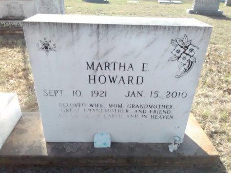 HOWARD, MARTHA E. - Grayson County, Texas | MARTHA E. HOWARD - Texas Gravestone Photos