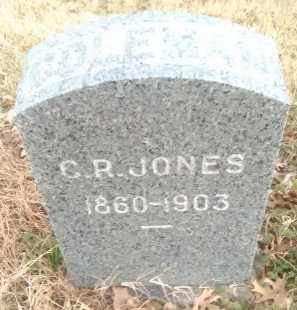 JONES, COLEMAN R  - Grayson County, Texas | COLEMAN R  JONES - Texas Gravestone Photos