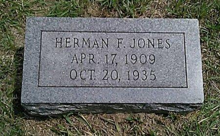 JONES, HERMAN F. - Grayson County, Texas | HERMAN F. JONES - Texas Gravestone Photos
