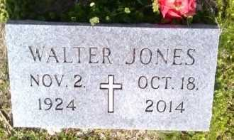 JONES, WALTER - Grayson County, Texas | WALTER JONES - Texas Gravestone Photos