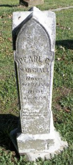 MARSHALL, PEARL C. - Grayson County, Texas | PEARL C. MARSHALL - Texas Gravestone Photos