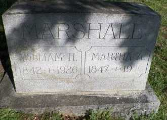 MARSHALL, WILLIAM HENRY - Grayson County, Texas | WILLIAM HENRY MARSHALL - Texas Gravestone Photos