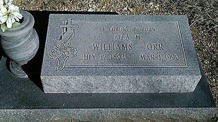 ORR, ELLA M. - Grayson County, Texas   ELLA M. ORR - Texas Gravestone Photos