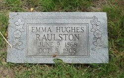 RAULSTON, EMMA - Grayson County, Texas | EMMA RAULSTON - Texas Gravestone Photos